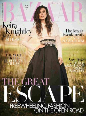 Harper's Bazaar UK - July 2021