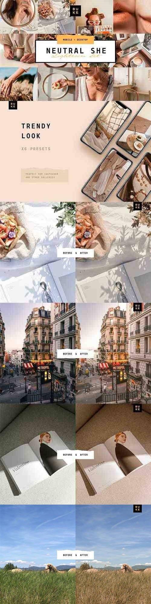 8 Pastel Lightroom Presets Bundle - Mobile & Desktop