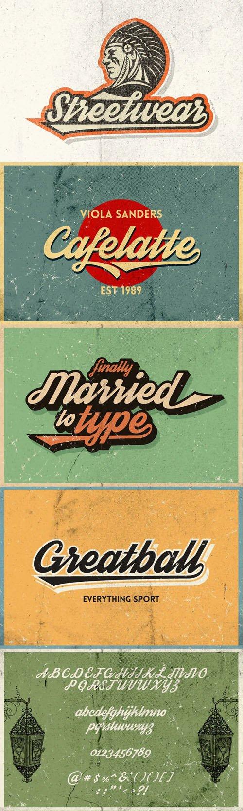 Streetwear - Bold & Retro Inspired Script Typeface