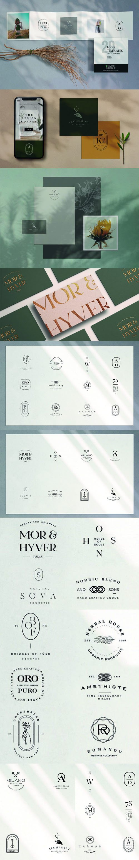 20 Logo Templates Customizable