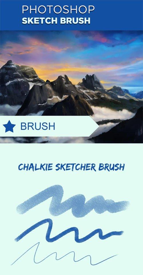 Photoshop Sketch Brush Set
