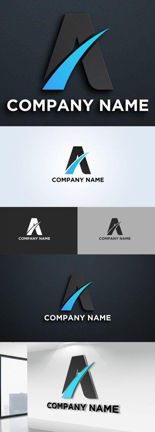 "Letter ""A"" Logo Vector Design Template"