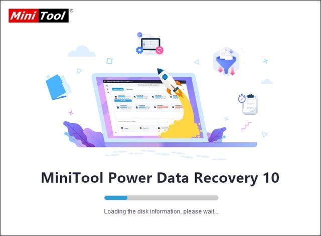 MiniTool Power Data Recovery 10.0 (x86) Multilingual