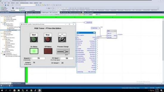 Allen Bradley PLC Training   PIDE Programming & PIDE Tuning