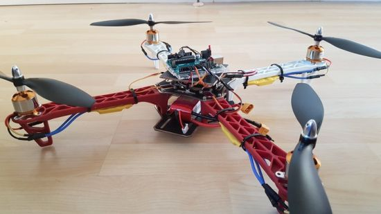 Understand the drone mechanics, design and building