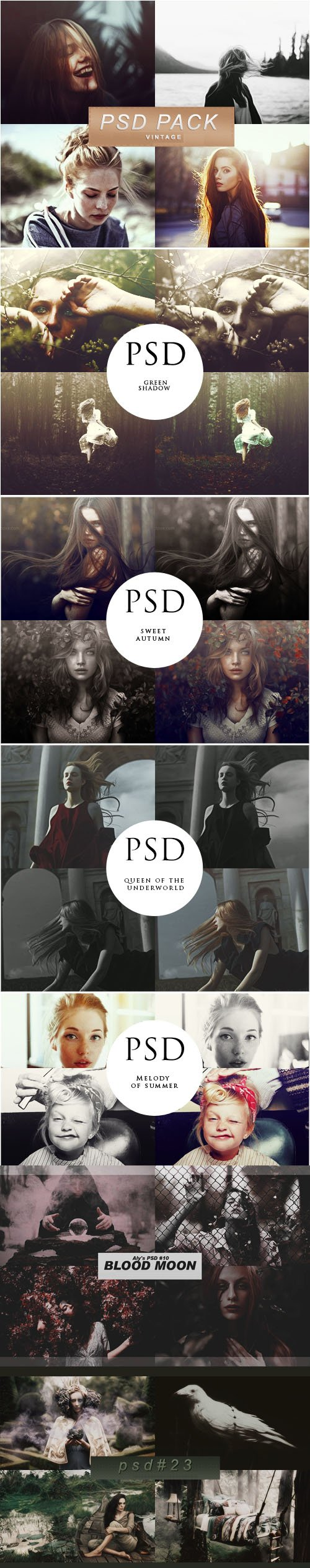Coloring Effects - PSD Templates Collection