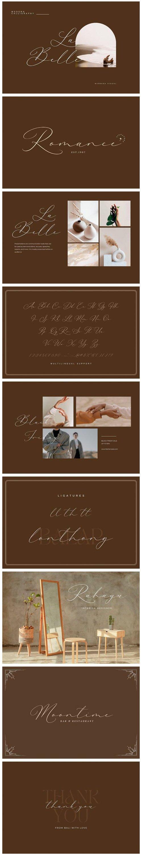 La Belle Signature - Wedding Script Font