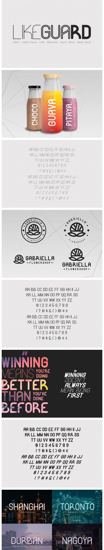 Likeguard - Minimalist Sans Serif Font