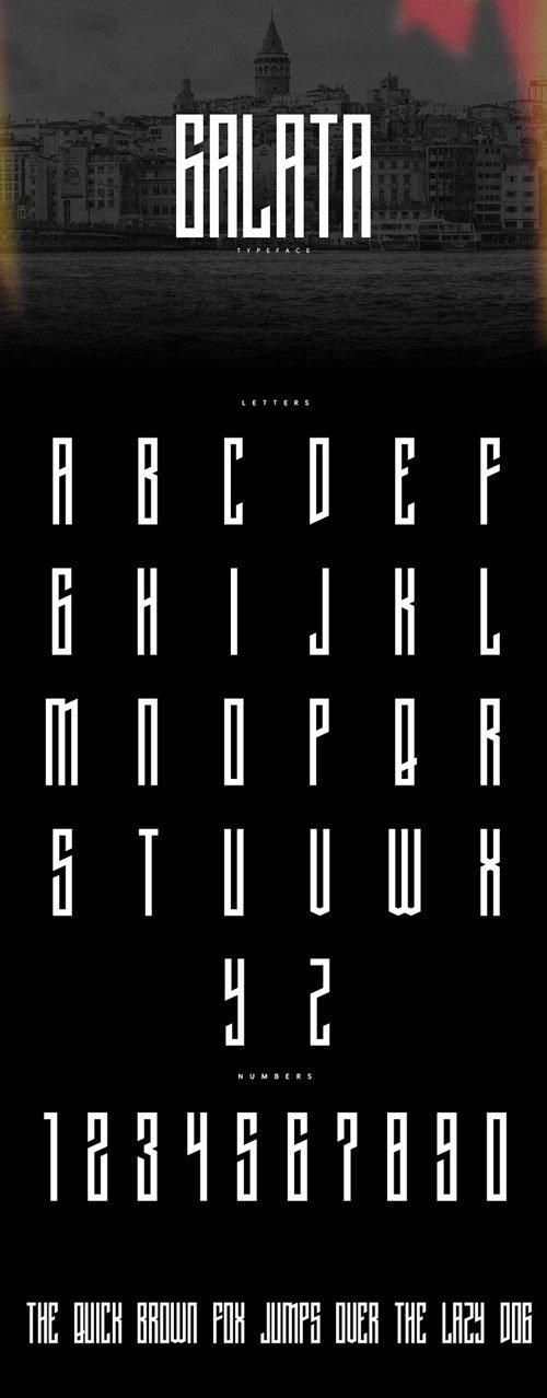 Galata Typeface