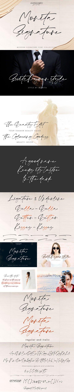Monita Signature - Elegant Script Font