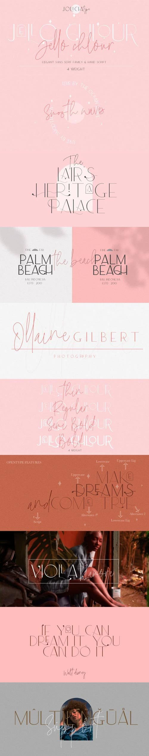 Jello Chlour Font Family