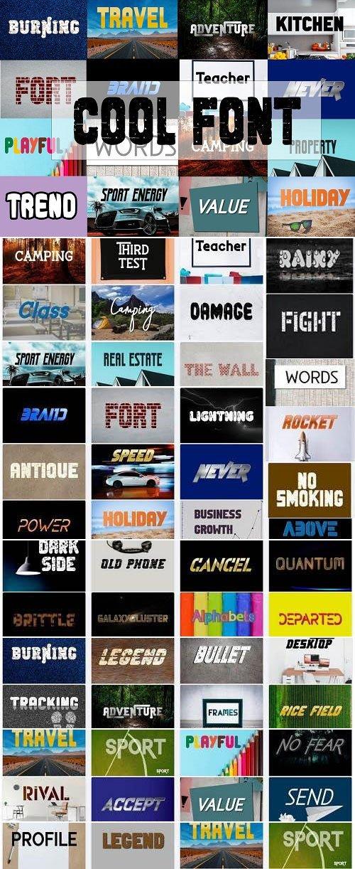 Cool Fonts Bundle - 58 Premium Fonts
