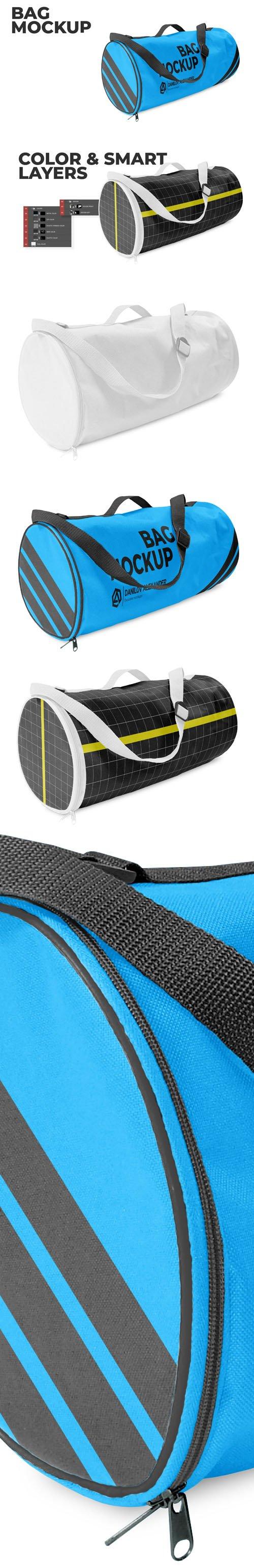 3D Bag PSD Mockup Template