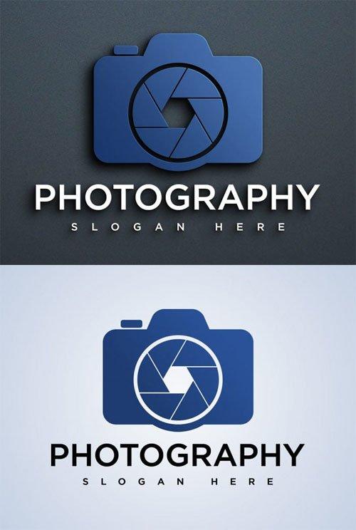 Photography Logo Design Vector Template