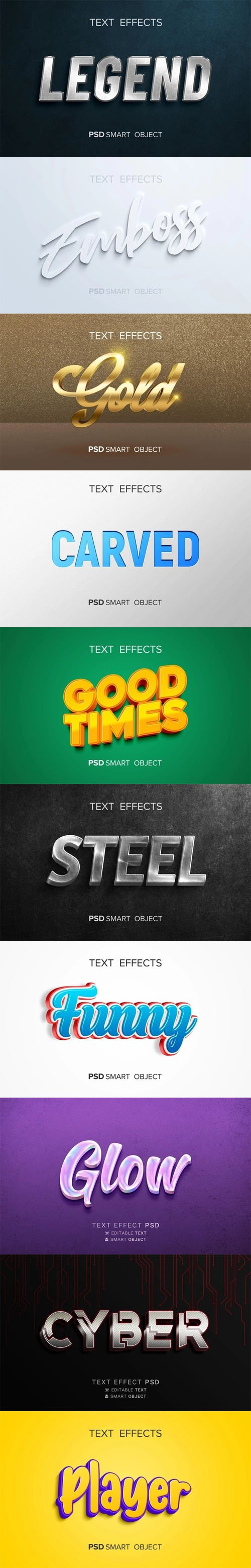 10 Creative Photoshop Text Effects