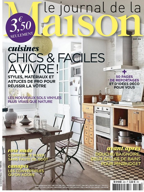 download le journal de la maison mars 2014 softarchive. Black Bedroom Furniture Sets. Home Design Ideas