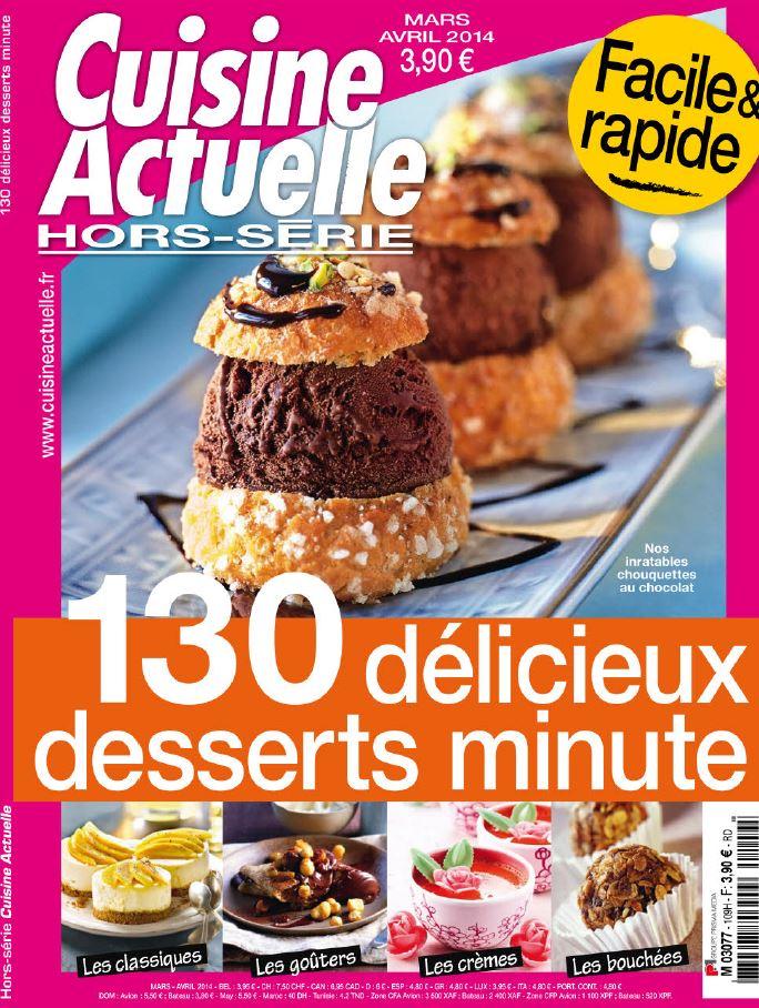 Download cuisine actuelle hors s rie n 109 mars avril for Cuisine actuelle