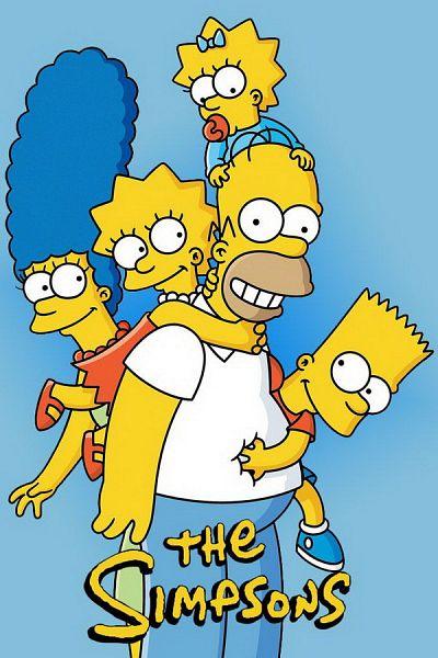 simpsons yellow family