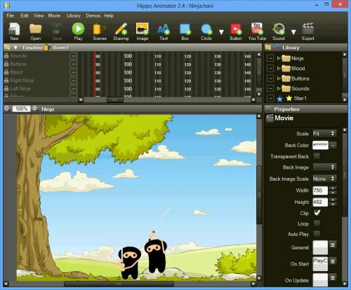 hippo animator portable