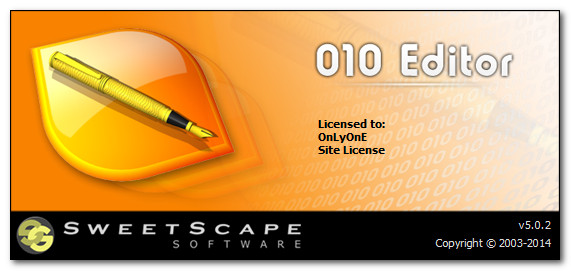 Download Sweetscape 010 Editor 5 0 2 - SoftArchive