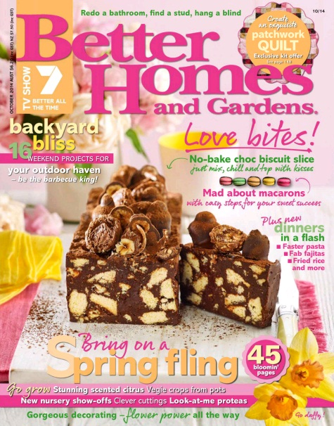 Download better homes and gardens australia october 2014 Better homes and gardens download