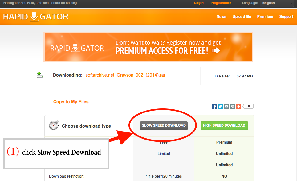 how to download from rapidgator