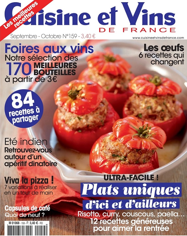 Download cuisine et vins de france septembre for Cuisine et vins de france