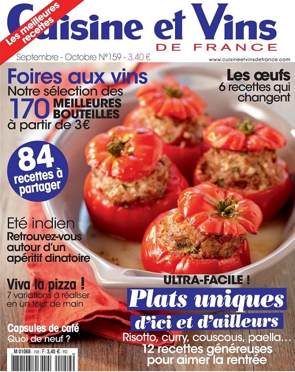 Download cuisine et vins de france septembre for Cuisine et vins de france