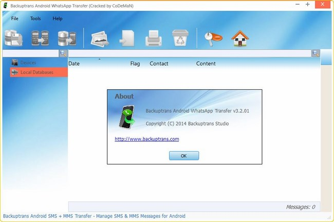 Backuptrans iphone space free up crack download