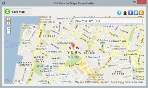 google map downloader portable