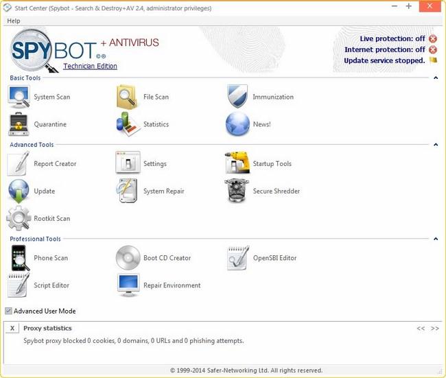 spybot portable edition