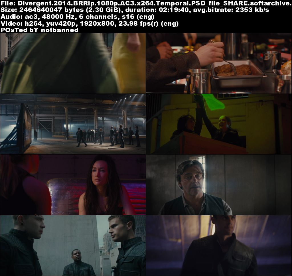Divergent 1080p x264