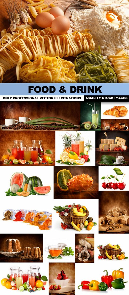 Download Food & Drink - 25 HQ Images - SoftArchive