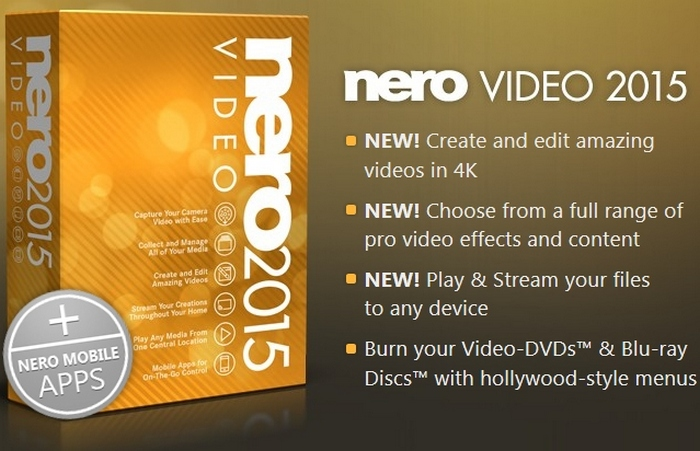nero video 2015 free download