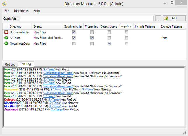 Directory Monitor Pro 2.12.1.3 Multilingual