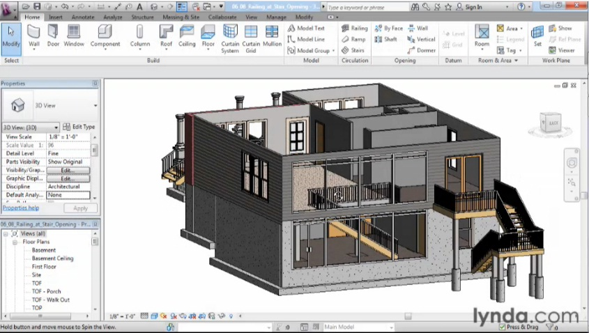 Download lynda designing a house in revit architecture for Creative interior designs by lynda
