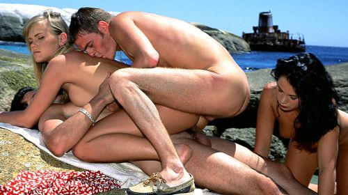 пляжное порно фото