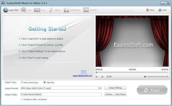 easiestsoft movie editor 5.1.0 download