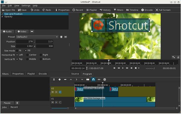 Shotcut 14.11.01