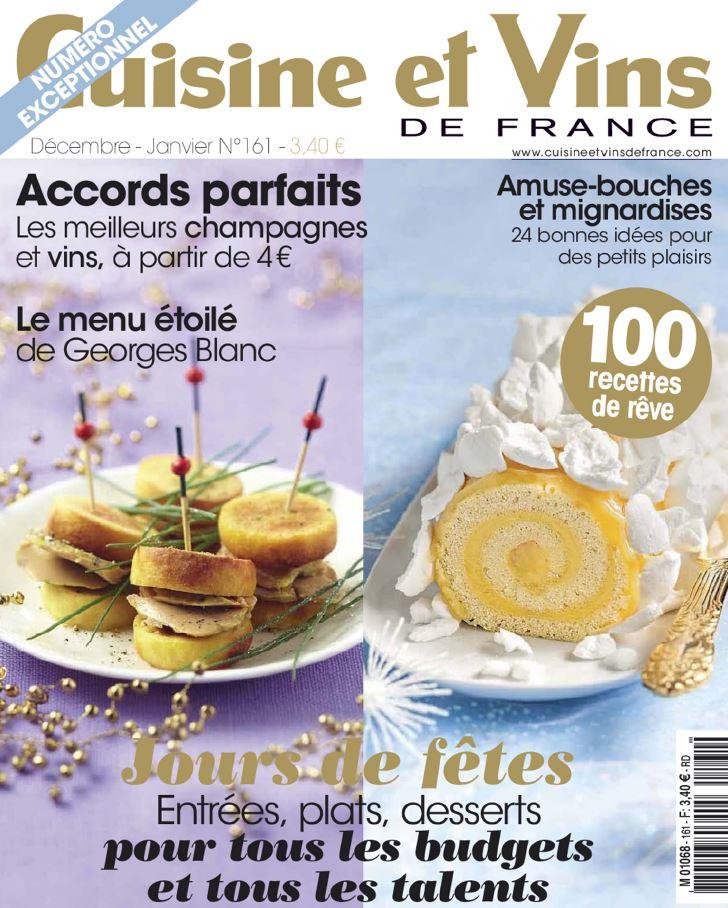 Download cuisine et vins de france n 161 d cembre 201 for Abonnement cuisine et vins de france
