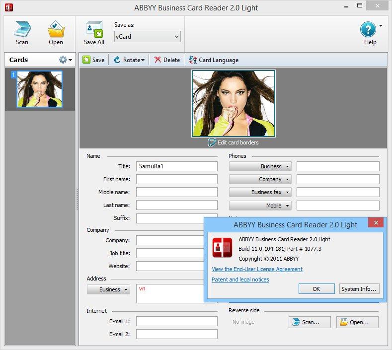 Download abbyy business card reader 20 light 110104181 softarchive abbyy business card reader 20 light 110104181 reheart Gallery