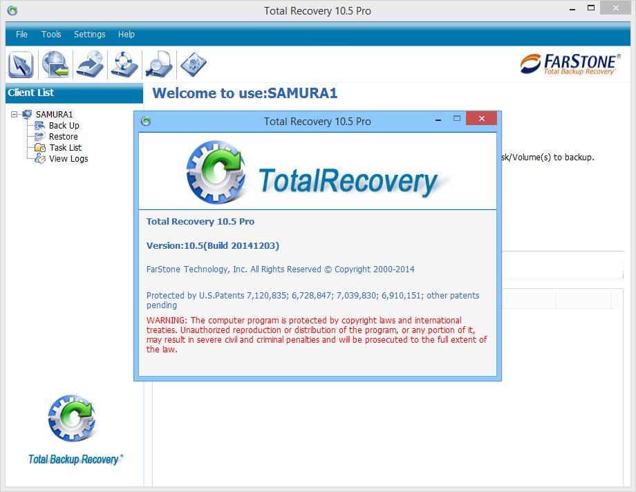 Download FarStone TotalRecovery Pro & Server 10.5 Build ...