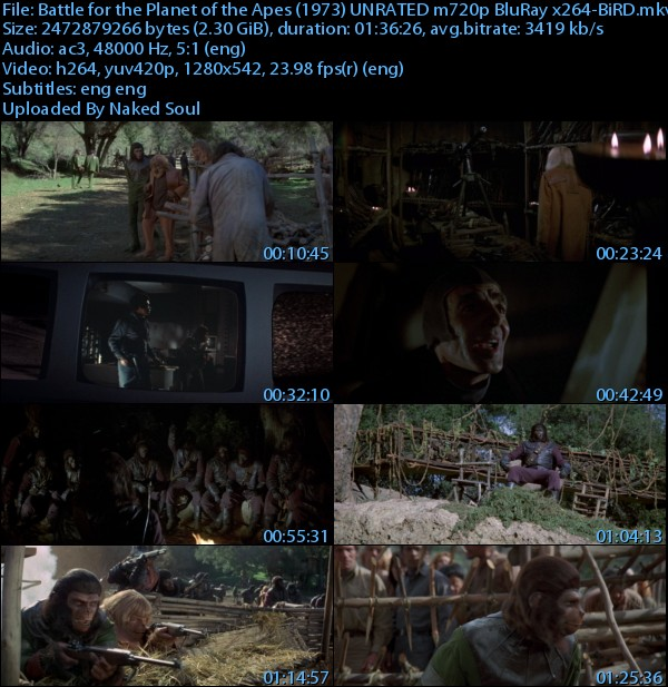 download battle for the planet of the apes 1973 unrated