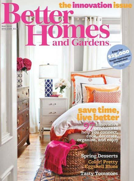 Download Better Homes And Gardens May 2013 Usa