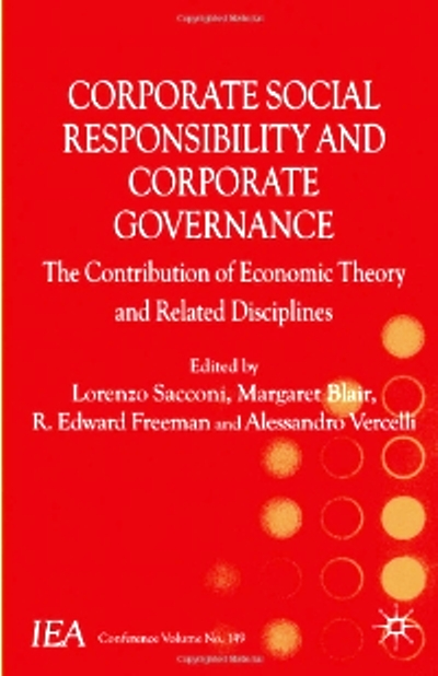 corporate governance and corporative social responsibility