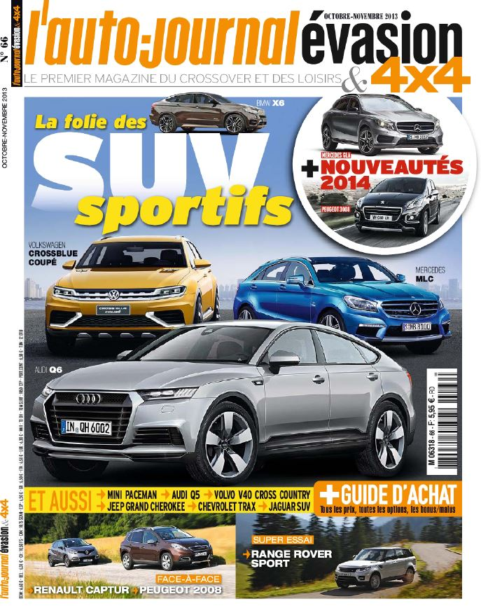 download l 39 auto journal 4x4 evasion n 66 octobre novembre 2013 softarchive. Black Bedroom Furniture Sets. Home Design Ideas