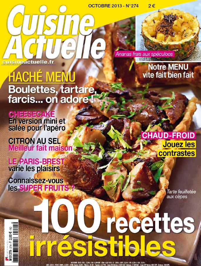 Download cuisine actuelle n 274 octobre 2013 softarchive for Cuisine actuelle