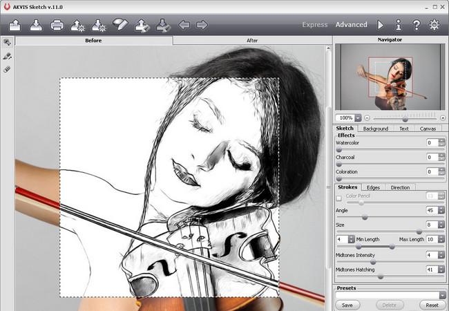 Фотошоп как сделать фото рисунком карандашом