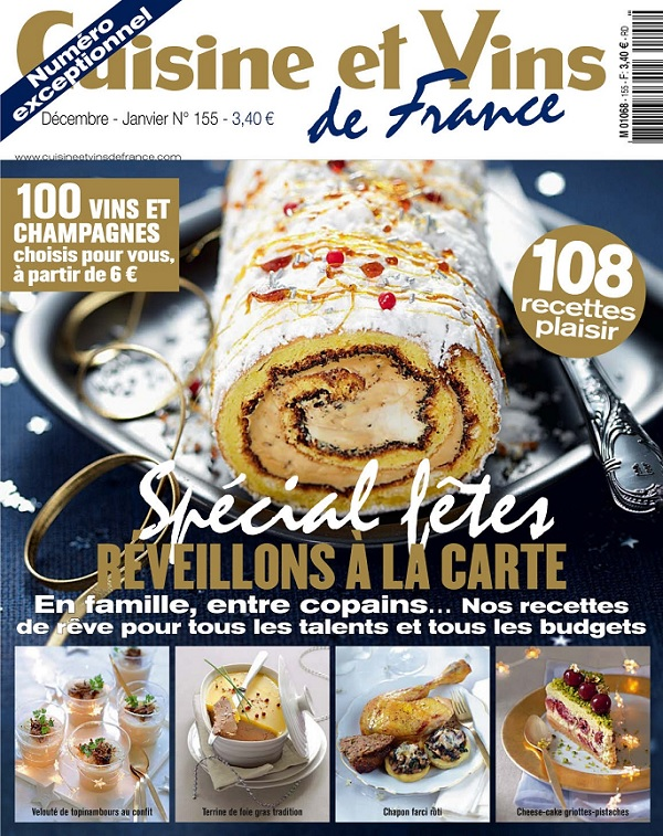 Download cuisine et vins de france d cembre 2013 for Cuisine et vins de france