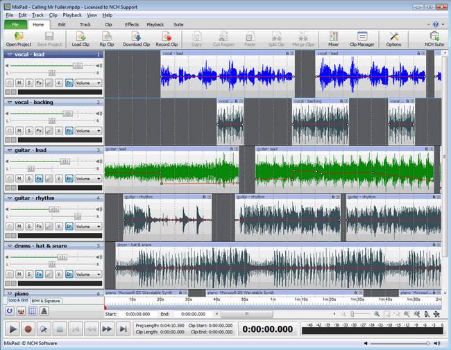 NCH MixPad Masters Edition 4.35 Beta